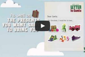 Digital Campaign  Letter to Santa   Rebecca Chalmers